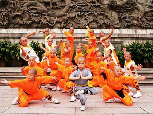 Shaolin training in china